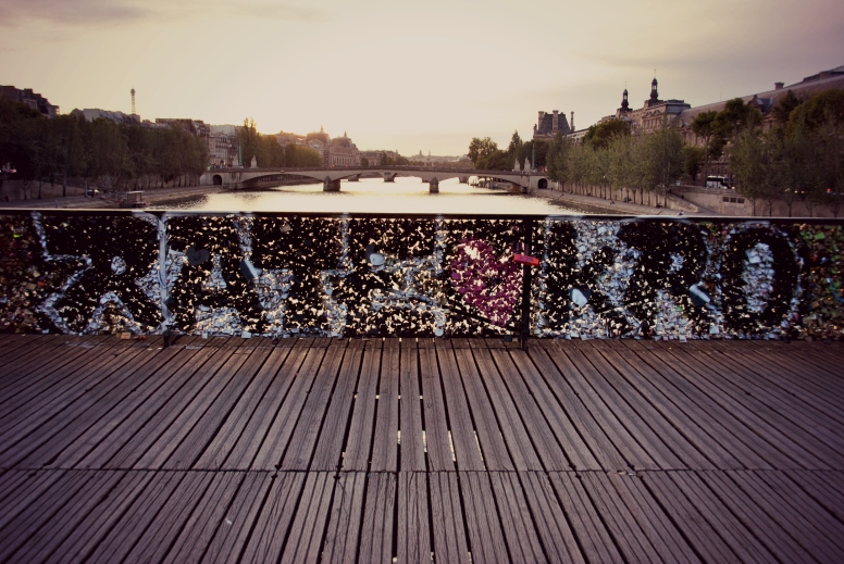 Graffiti on Pont Neuf